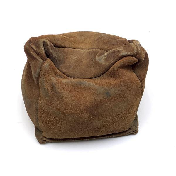 Sand Filled Leather Bench Rest Bag