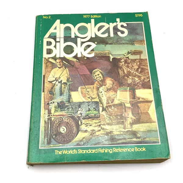 1977 Anglers Bible 478 Pages