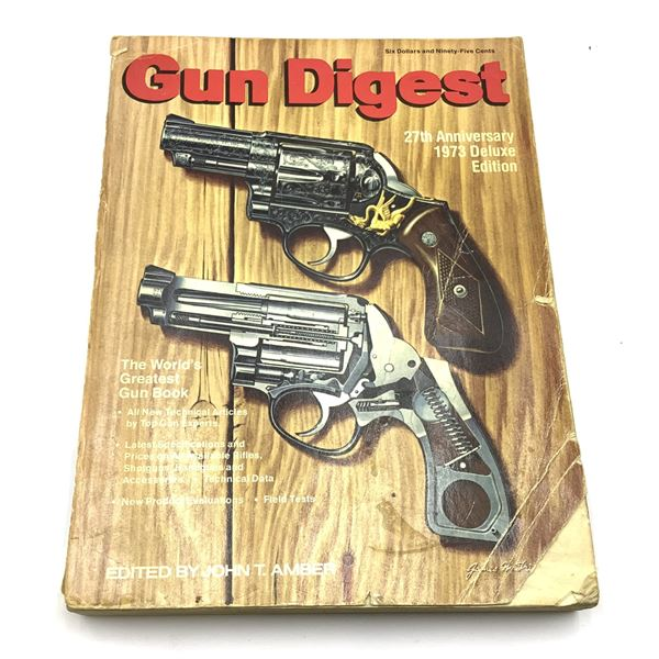 1973 27th Anniversary Edition Gun Digest 480 pages
