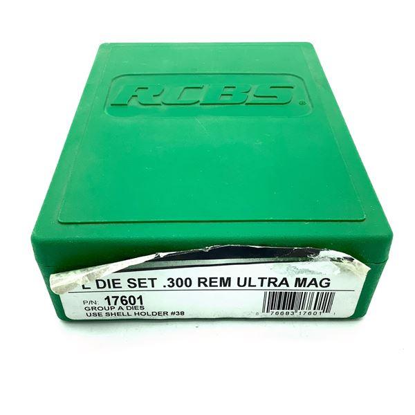 RCBS 300 Rem Ultra Mag Full Length 2 Die Set, New