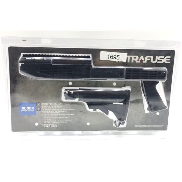 TAPCO Intrafuse Mini-14/Mini-30 Stock System, Black