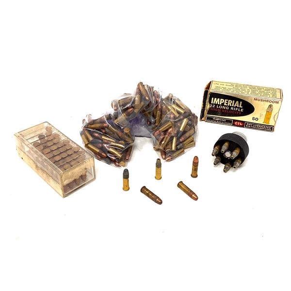 Loose Assorted Rimfire Ammunition, Approx 200 Rounds