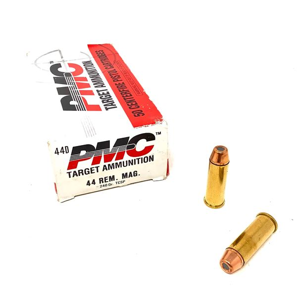 PMC Target 44 Rem Mag HP Ammunition, 30 Rounds and 20 Cases