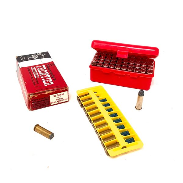 Assorted 38 Special Ammunition, Approx 87 Rounds, 8 Shotshell and 1 MTM Casegard Shellholder