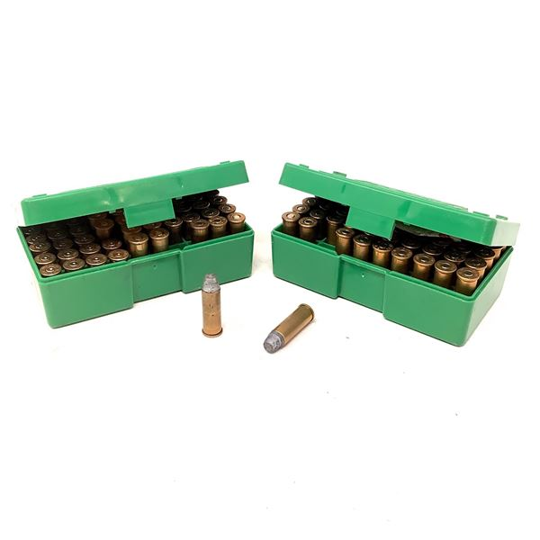 44 Rem Mag Ammunition, Approx 83 Rounds, 17 Cases and RCBS Shellholders X 2