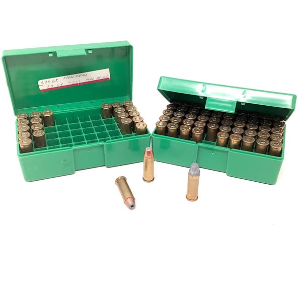 44 Rem Mag Ammunition, Approx 72 Rounds and RCBS Shellholders X 2