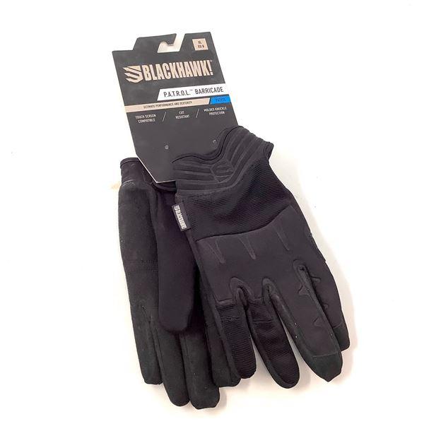 BlackHawk P.A.T.R.O.L. Barricade Gloves Size XL, Blk, New