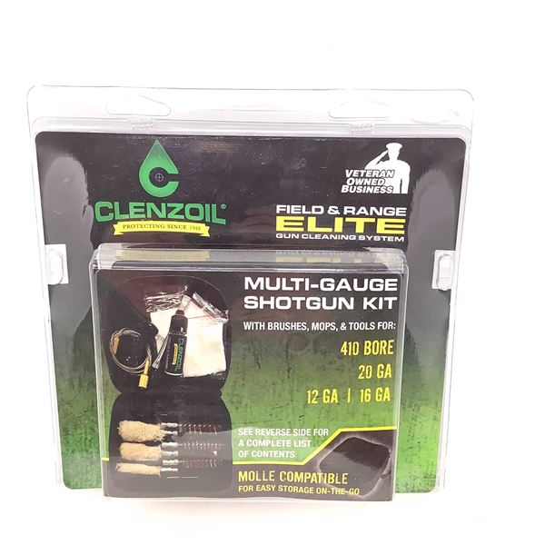 Clenzoil Field and Range Elite Gun Cleaning System for Shotguns, New