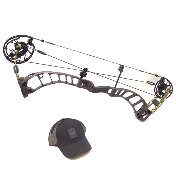 Prime Archery Nexus 4 Compound Bow, RH 29/60, Grizzly Brown/ Fusion, New