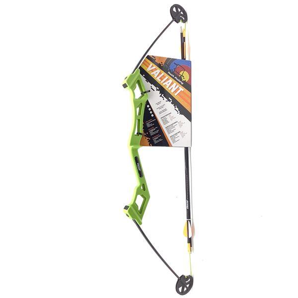 Bear Archery Valiant Youth Bow Set, Flow Green, New
