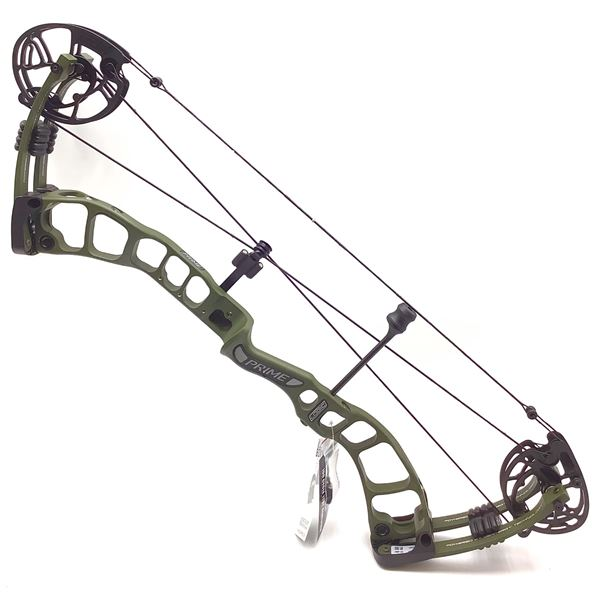 Prime Logic Compound Bow, RH 28/65, Green/ Green, New