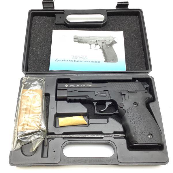 Norinco NP762 Semi Auto 7.62x25 Pistol New