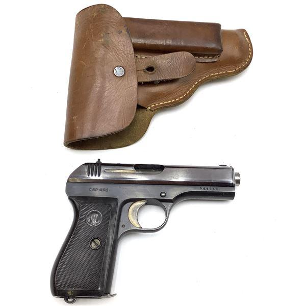CZ 27 Semi Auto 7.65 Cal Pistol  Prohibited