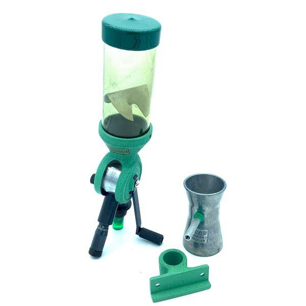 Redding Powder Measure w/ Stand & RCBS Powder Trickler