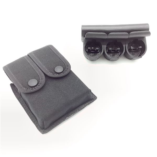 Safariland Speed Loader Holder and Uncle Mike's Sidekick Magazine Pouch
