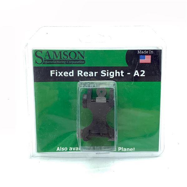 Samson Fixed Rear A2 Sight, New