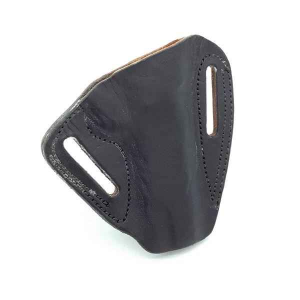 Leather Belt Holster, Black