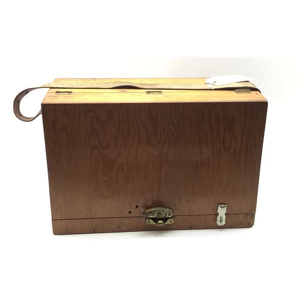 Custom Made Pistol Bench Box