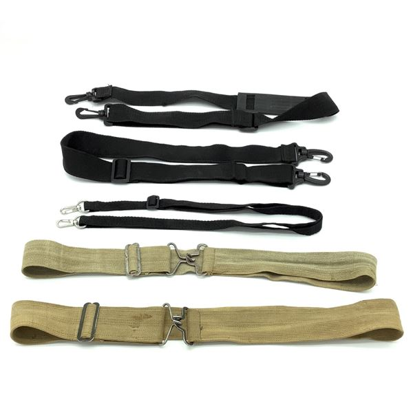 Assorted Belts and Lanyards X 5