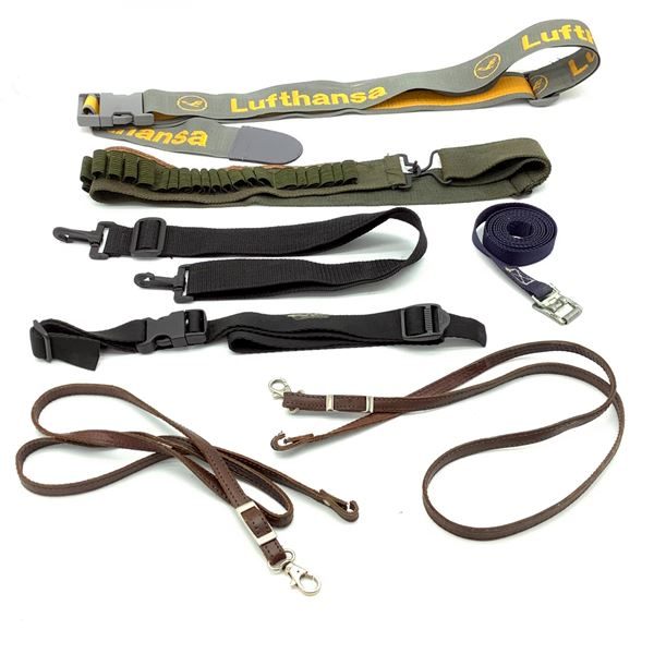 Assorted Bandoleers, Belts and Slings X 7