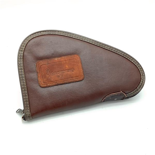 Browning Leather Pistol Case