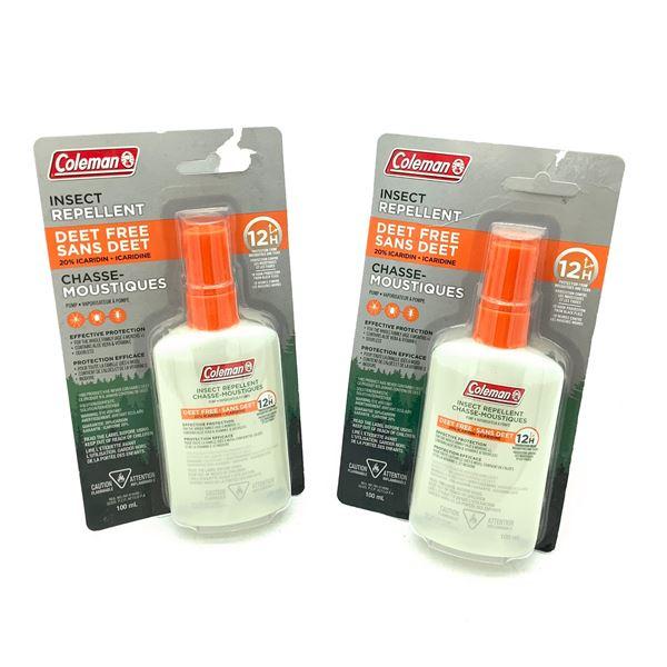 Coleman Insect Repellent Deet Free, 100 mL X 2