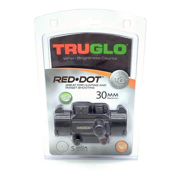 TruGlo 30 mm 5 MOA Red Dot Sight, New