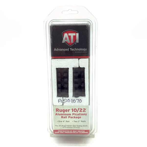 ATI Ruger 10/22 Picatinny Rail Package, New