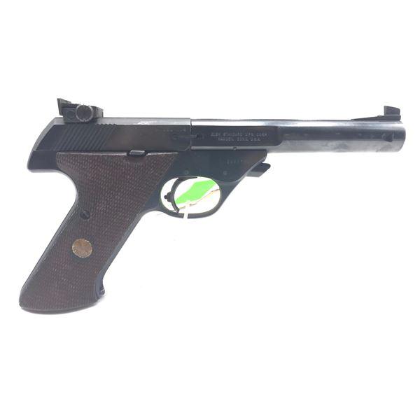 Hi-Standard Supermatic Citation 104 Semi-Auto Target Pistol, .22LR