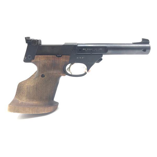 Hi-Standard Supermatic Citation Semi-Auto Target Pistol, .22LR