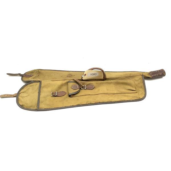 Antique Canvas Gun Case.