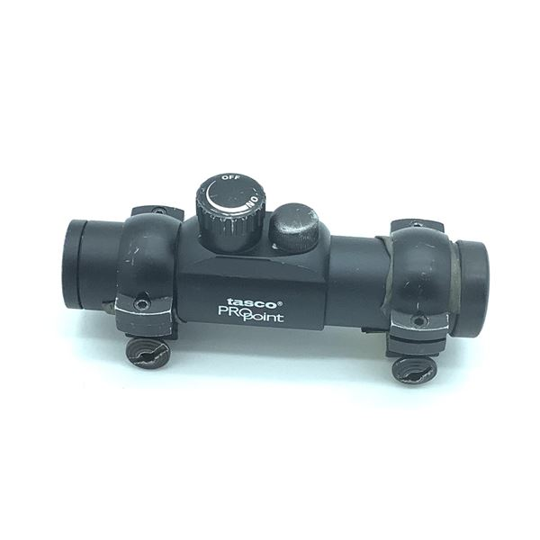 Tasco Propoint Red Dot scope with Rings