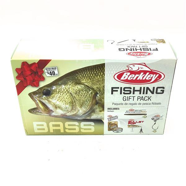 Berkley Bass Fishing Gift Pack, New