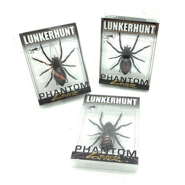 Lunkerhunt Phantom Spider X 3
