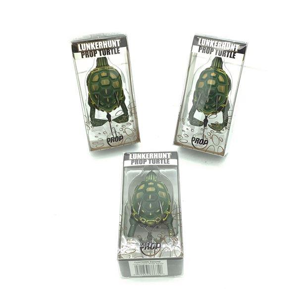 Lunkerhunt Prop Turtle X 3