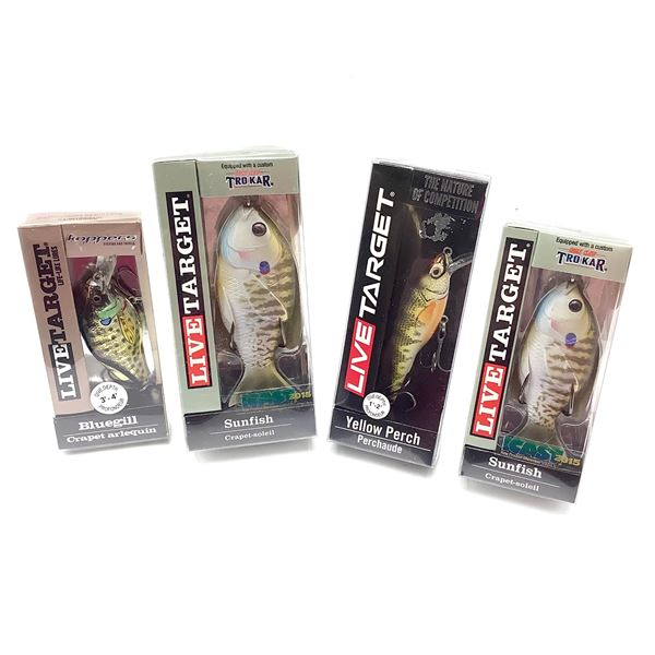 Live Target Lures X 4