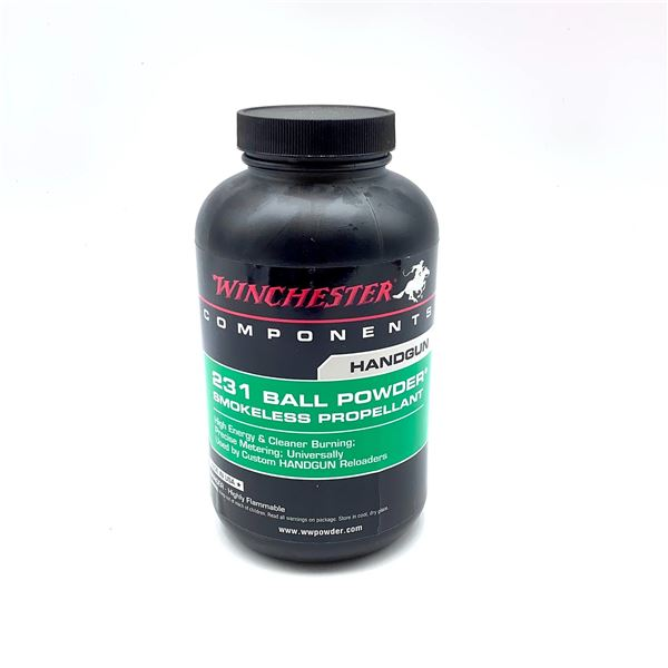 Winchester 231 Ball Powder, 1 Lb, New