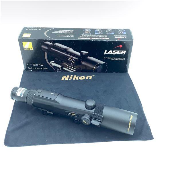 Nikon Laser Immediate Ranging Technology 4 - 12 x 42 Riflescope