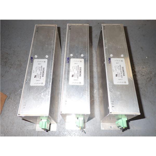 Lot of (3) Siemens #6SE7016-0EP87-0FB1 Filters