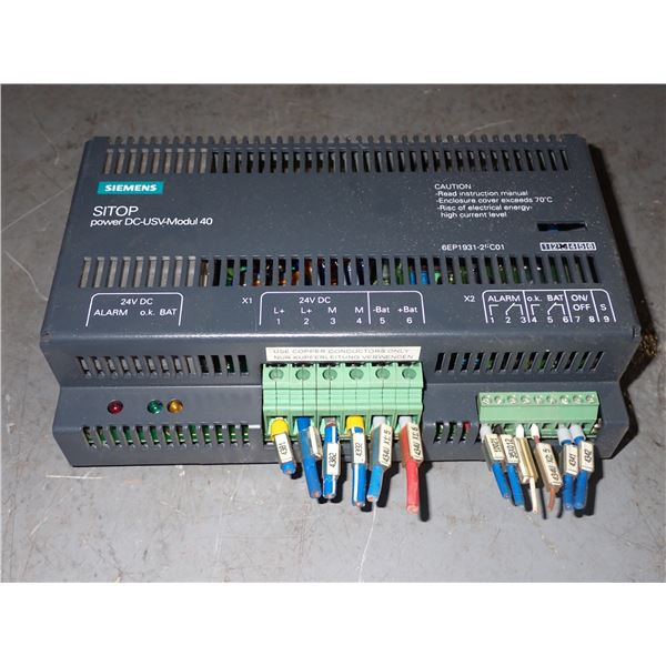 Siemens #1P 6EP1931-2FC01 Power Supply