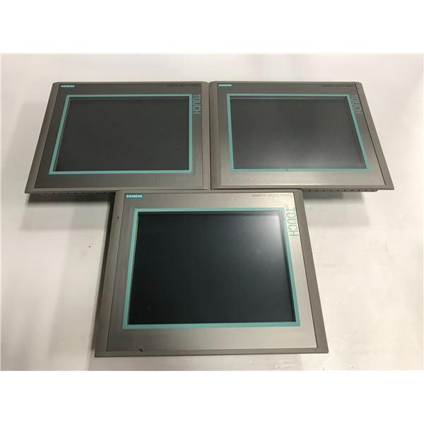 "(3) Siemens 1P 6AV6 644-0AA01-2AX0 MP 377 12"" Touch"