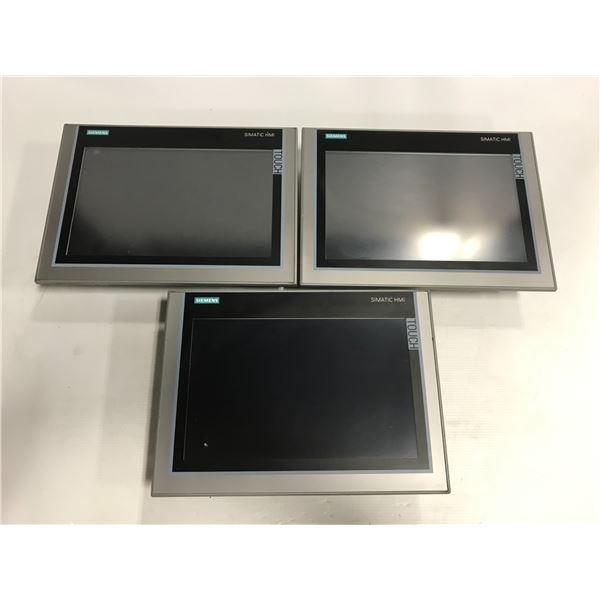 (3) - Siemens 6AV2 124-0MC01-0AX0 TP1200 Comfort Screens