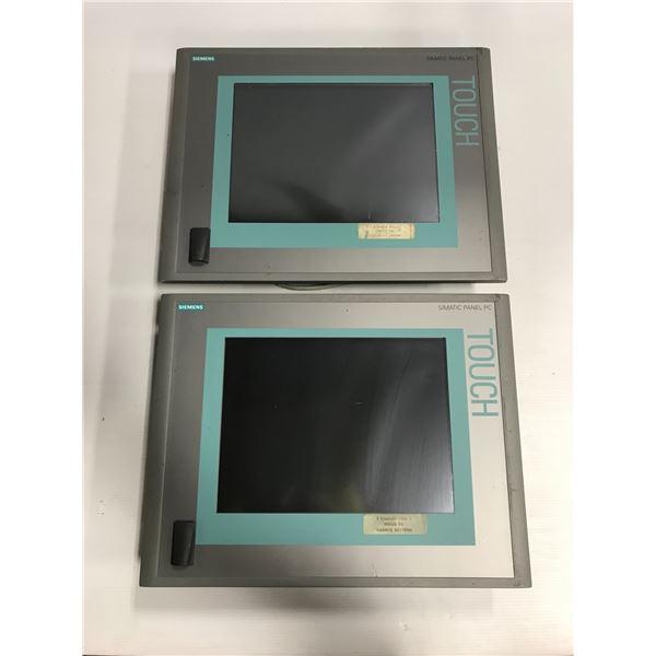 (2) - Siemens 6AV7884-0AD20-4EA0 Simatic HMI IPC477C Panels