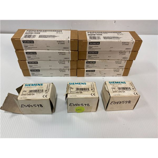 Lot Of Siemens Parts In Box