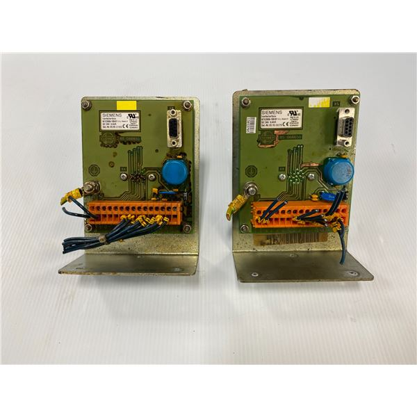 (2) Siemens # 6FX2006-1BH01 Items