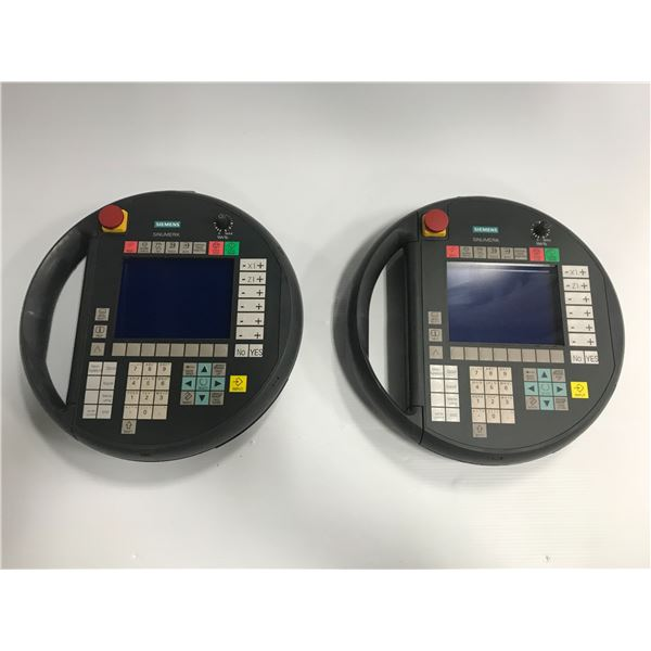 (2) Siemens #6FC5403-0AA10-0AA0 Pendant