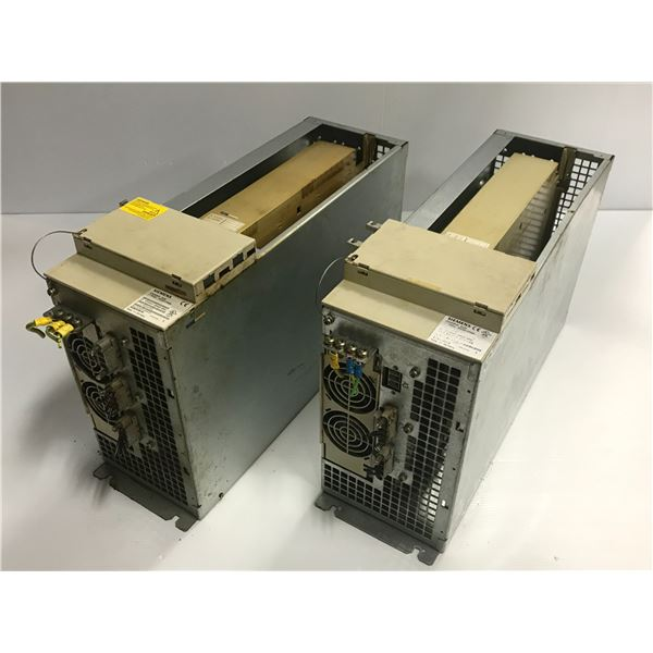 (2) Siemens #6FC5447-0AA00-0AA1 Sinumerik 810D Box
