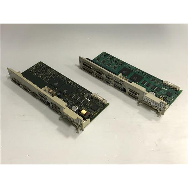 (2) Siemens #6SN1118-0DM33-0AA2, SN1118-0DJ23-0AA2 Circuit Board