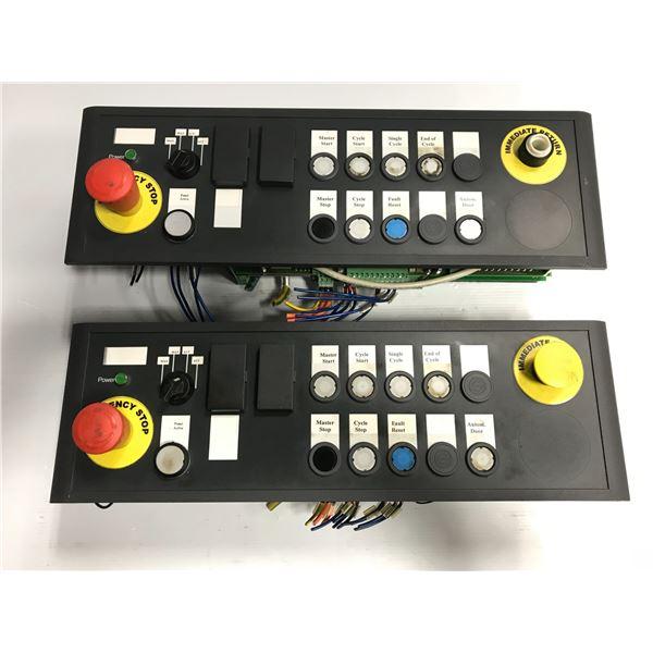 (2) Siemens #6FC5203-0AF28-0AN0 Control Panel