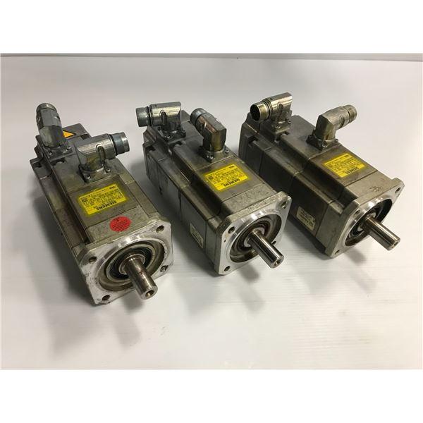 (3) Siemens #1FK7042-5AK71-1EH2 Motor